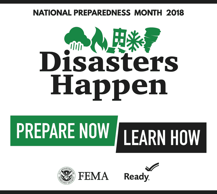 NATL Preparedness Month
