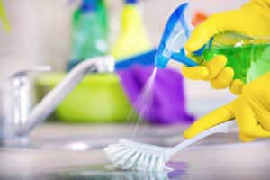 disinfecting home appliances