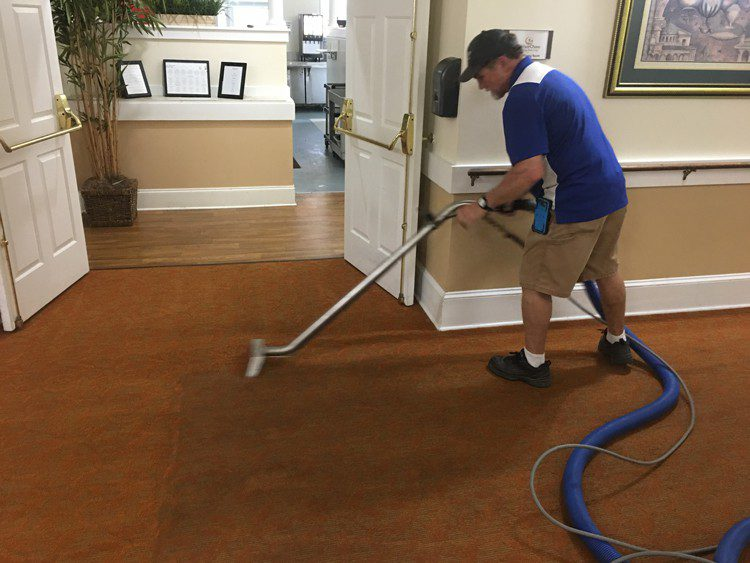 commercial carpet cleaning by Whitehall carpet cleaners