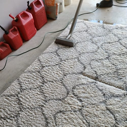 it is always important to call the professionals to clean up stains (big or small), you can actually maintain your area rug at home with some simple steps.